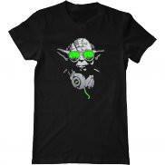 Мужская футболка с принтом DJ Йода