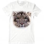 Мужская футболка с принтом Леопард