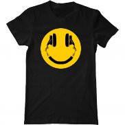 Мужская футболка с принтом DJ Smile