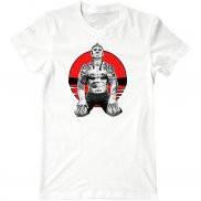 Мужская футболка с принтом Муай Тай