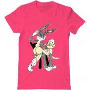 Мужская футболка с принтом Bugs Bunny