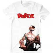Мужская футболка с принтом Popeye