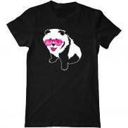 Мужская футболка с принтом Гламурная панда