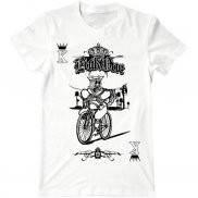 Мужская футболка с принтом Bicycle joker card