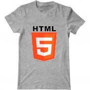 Мужская футболка с принтом Html