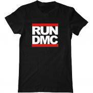 Мужская футболка с принтом RUN DMC