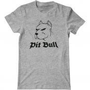 Мужская футболка с принтом Pit Bull