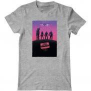 Мужская футболка с принтом Стражи галактики
