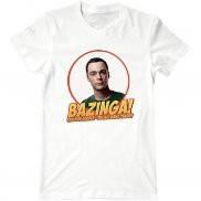 Мужская футболка с принтом bazinga