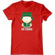Мужская футболка с принтом Кайл Южный Парк