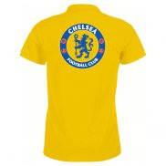 Мужская футболка Поло с принтом Chelsea logo
