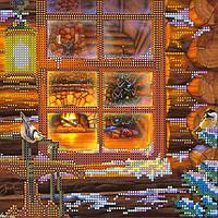 """Схема для вышивки бисером на натуральном холсте """"Накануне Рождества""""  AC-072"""