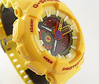 Часы наручные Casio G-Shock GA-100 5081 желтые