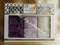 Набор бамбуковых кухонных полотенец Cestepe  3шт: 40х60  Турция
