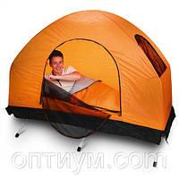 Туристическая раскладушка с палаткой Bestway
