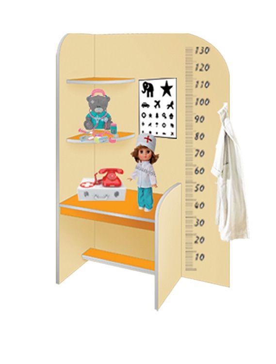 Медицинский уголок детского сада своими руками