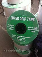 Лента для капельного полива SUPER DRIP TAPE 20см.(1000м) щелевая(корея)