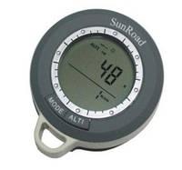 SR108N 8 в 1 Термометр, компас, барометр, высотомер ,часы,календарь,метео-станция + измерение скороподъемности