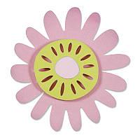 Ножи для вырубки Sizzix Thinlits Die Set 2PK - Meadow Flower, 660810