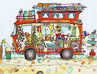 """Набор для вышивания Cut Thru' Camper Van """"Авто для кемпинга"""", XCT16"""