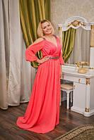 Вечернее платье греческий стиль Камни (RN-5218)