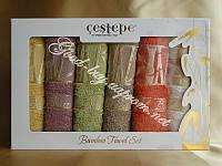 Бамбуковые полотенца на кухню Сestepe 6шт: 30x50 Турция