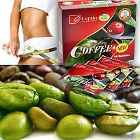 Зеленый кофе для похудения с лептином (Slimming Coffee, Leptin), аромат розы