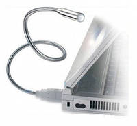 Гибкий USB фонарик для ноутбука