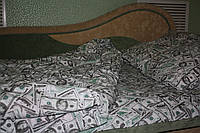 Постельное Доллары  тернополь   миткаль