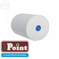 Полотенца бумажные рулонные белые автоматы 2-х слойные целлюлоза 150 м. Eco Point Standart