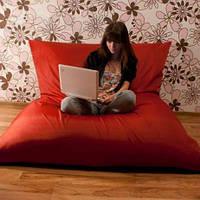 Красное кресло мешок подушка 140*180 см из ткани Оксфорд, кресло-мат