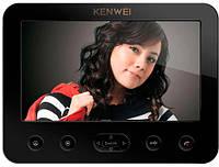Видеодомофон KENWEI E-706C BLACK