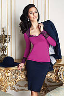 Оригинальный женский джемпер с длинными рукавами ТМ Anabel Arto