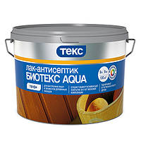 Лак-антисептик водоразбавляемый Биотекс Aqua ПРОФИ палисандр, 0.9л