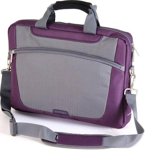 """Сумка для ноутбука 16"""" Sumdex Passage PON-318RD бордовый, PON-318PL фиолетовый"""