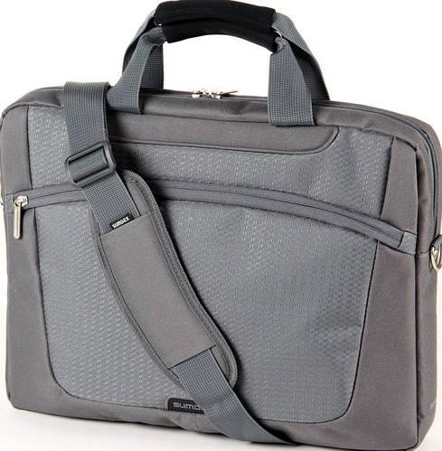 """Оригинальная сумка для ноутбука 16"""" Sumdex Passage PON-318GP серый"""