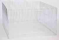 Вольер переносной оцинк. для собак и др. мелких животных, 100х60см/4секции