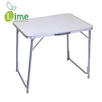 Раскладной стол алюминиевый, 80х60х70см