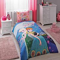 Детское постельное бельё TAC  Disney Frozen Elza & Anna (Фрозен Ельза & Анна)