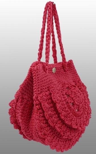Стильная женская сумочка-ридикюль EB-3015-pink