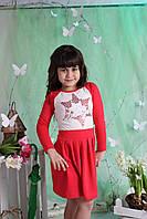 Стильное платье для девочки №620