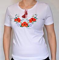Летняя футболка-вышиванка