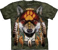3D футболка The Mountain - Native Wolf Spirit