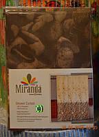 Штора MIRANDA, цвет коричневый SUBAQUA,ПроизводительТурция