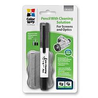 Карандаш ColorWay со встроенной жидкостью для очистки оптики Фото, видео (CW-6212)