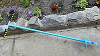 Садовый бур 160 мм, лёгкий, крепкий и надёжный