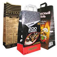 Мешки бумажные для угля, брикетов, наполнителей
