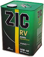 "Автомобильное моторное масло ""ZIC RV Diesel"" (10w40)(4L)"