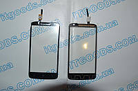 Оригинальный тачскрин / сенсор (сенсорное стекло) для Lenovo S820 (черный цвет, чип Synaptics) + СКОТЧ