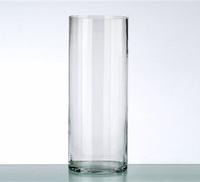 Цилиндрическая ваза 195 мм .Ваза тубус для флористики, цветов и свечей